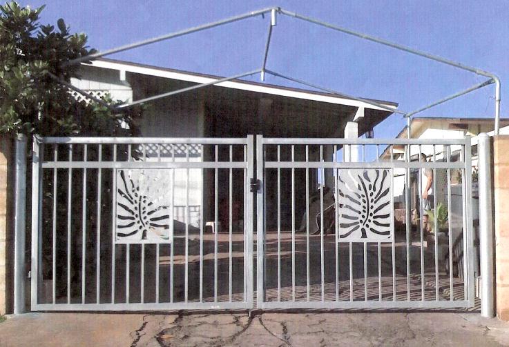 Lauhala Gate